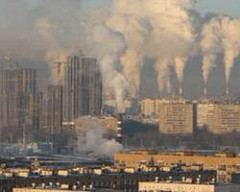 Загрязнение воздуха связано с «ужесточением» артерий