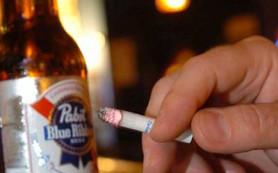 Сигареты и алкоголь одновременно – быстрый путь к слабоумию