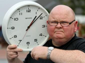 Шотландцу поставили диагноз «хроническое запаздывание»