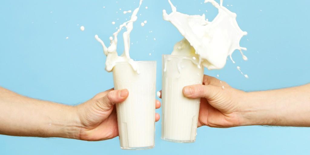 Если вы хотите бросить курить…пейте молоко!