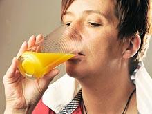 Апельсиновый сок улучшает память пожилых людей
