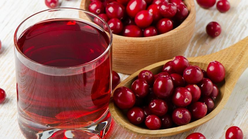 Клюквенный сок защищает от болезней сердца и сосудов