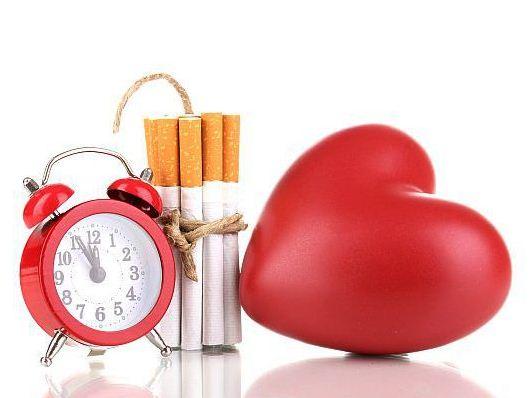 Причина болезней сердца и сосудов – курение