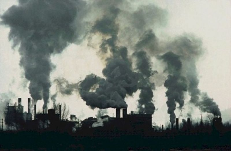 Загрязнение воздуха увеличивает риск сердечных заболеваний