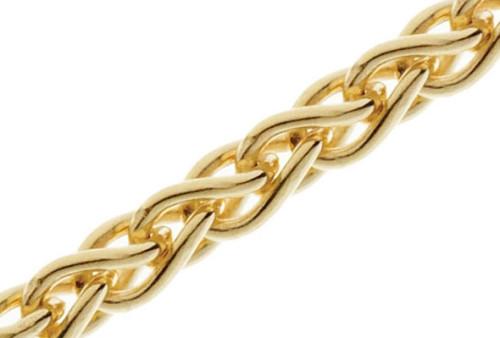Какое самое крепкое плетение у золотой цепочки.