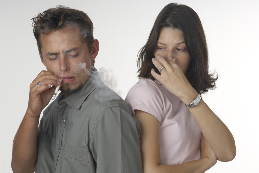Пассивное курение причина инфарктов