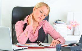 Сидячая работа грозит образованием тромбов
