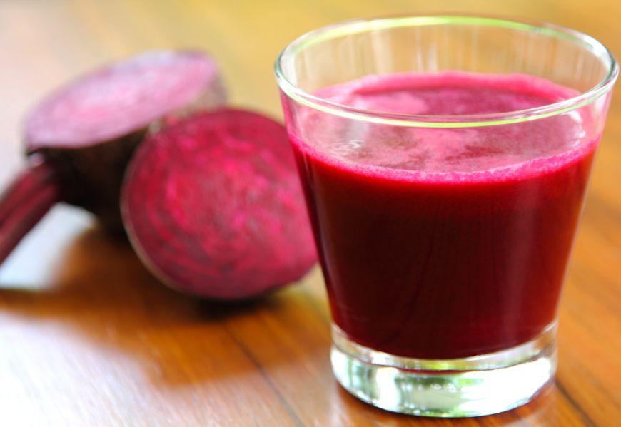Свекольный сок эффективен в плане снижения кровяного давления