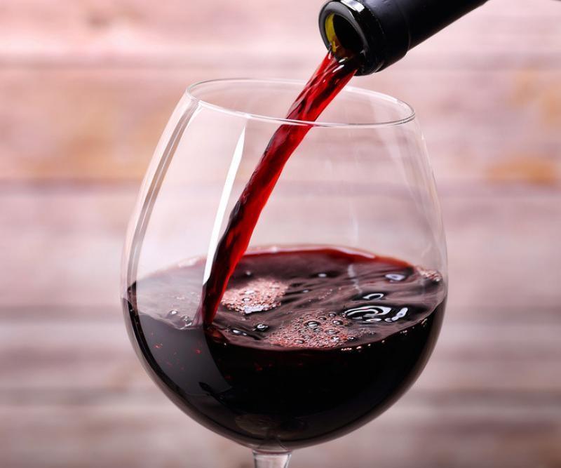 Красное вино полезно для сердца