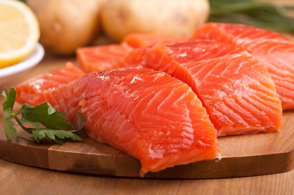 Жирная рыба очищает сосуды