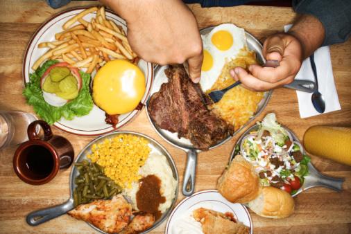 Жирная пища вредит мозгу