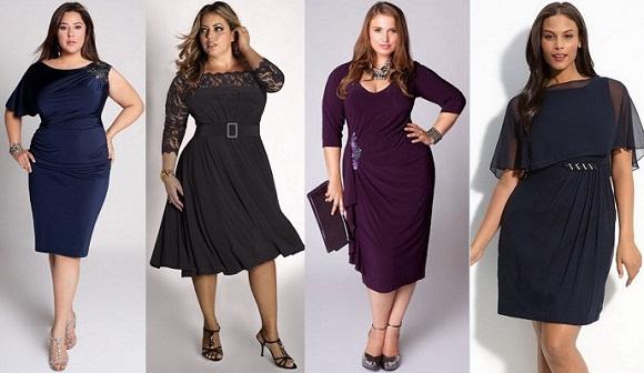 Как выбрать платье полной женщине?