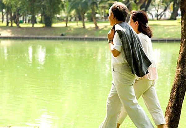 Чтобы улучшить настроение, полезно ходить пешком