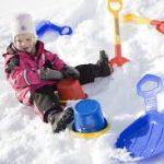 Зимние игры для детей на воздухе