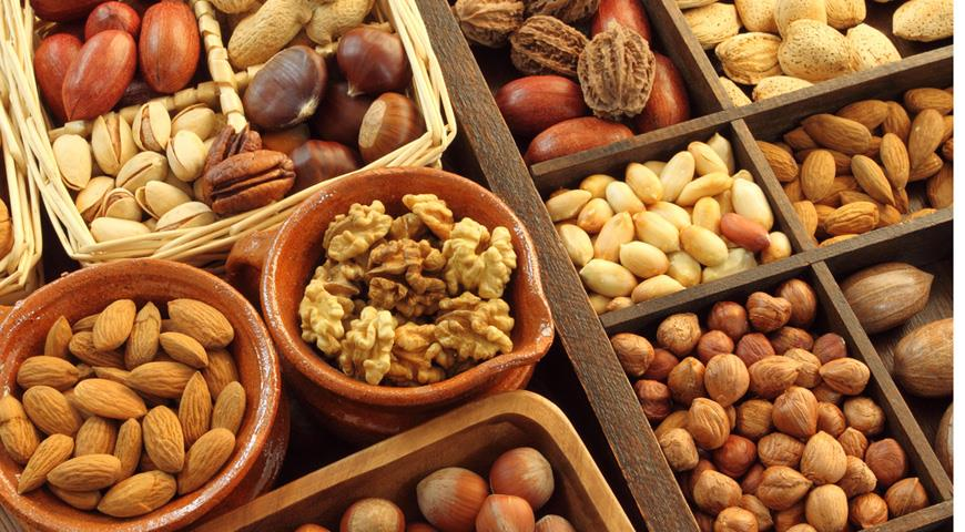 Потребление орехов обратно пропорционально риску сердечно-сосудистых заболеваний
