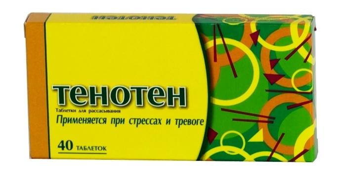«Тенотен» при вегетососудистой дистонии
