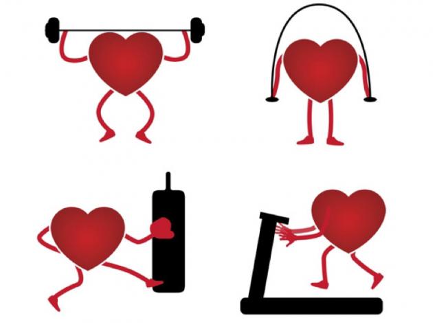 Упражнения, которые сделают сердце и сосуды крепкими