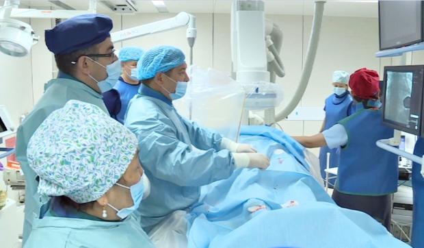В Талдыкоргане провели операцию на сердце эндоваскулярным методом