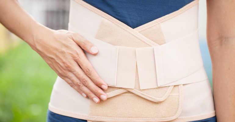 Корсет при остеохондрозе: правила выбора и ношения