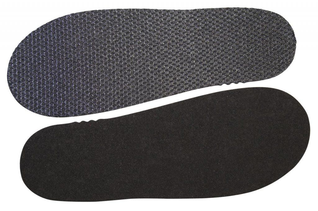 Дублированный eva с сеткой 3Д для спортивной обуви.