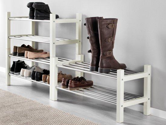 Компактные и прочные полки для обуви от компании plastic-shop.in.ua