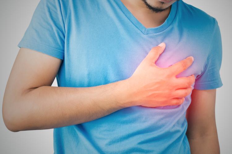 Поражение сердца при стабильной стенокардии