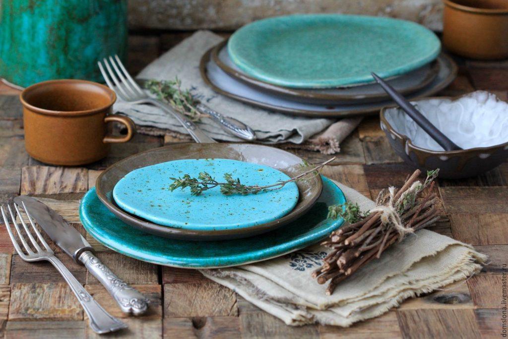 Керамическая столовая посуда