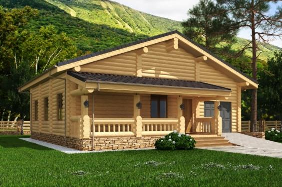 Экологичный минимализм при строительстве дома