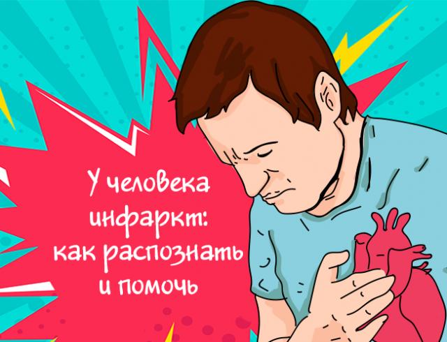 Инфаркт: как распознать и помочь человеку
