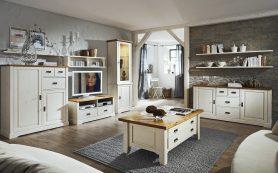 Массив и белый цвет для уюта в квартире
