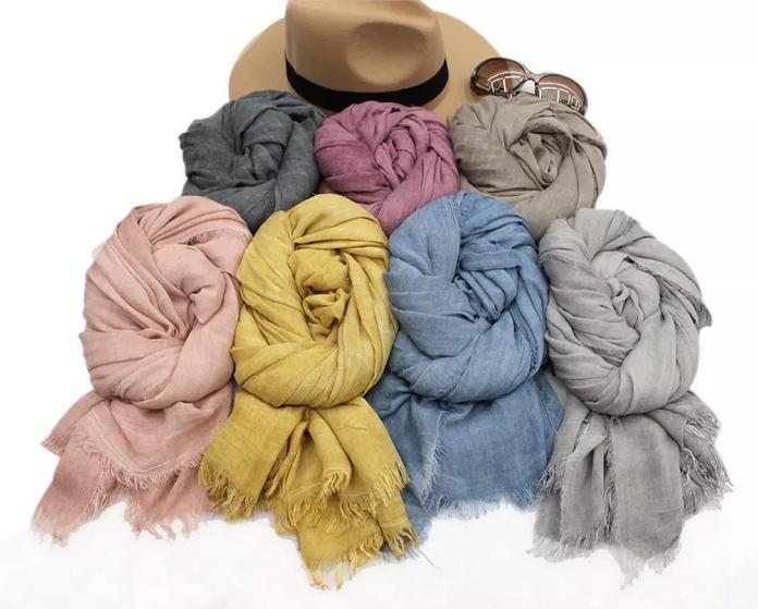 Выбираем женский шарф