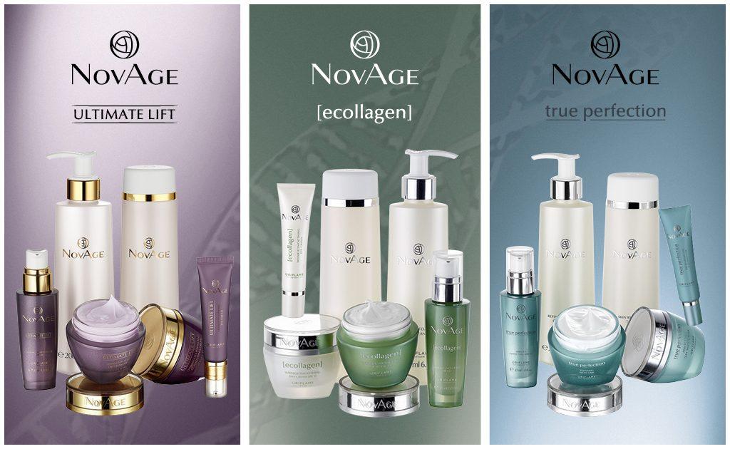 Серия косметических средств NovAge от Орифлэйм