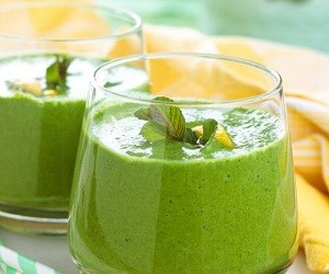 4 лучших зеленых смузи для снижения высокого кровяного давления