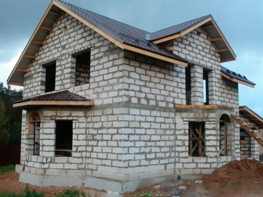 Строительство домов из газосиликатных и пенобетонных блоков